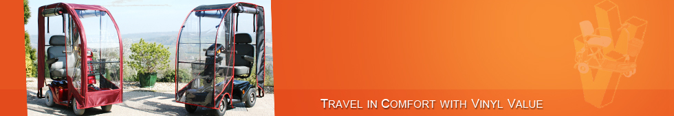 travel in comfort with vinyl value (banner)